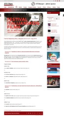 2205 - atastars.rs - Festival italijanskog filma u Beogradu od 23. do 27. maja 2018