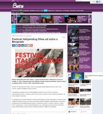 2205 - beta.rs - Festival italijanskog filma od sutra u Beogradu