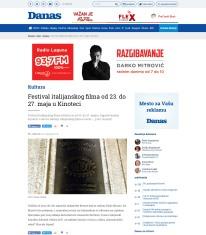 2205 - danas.rs - Festival italijanskog filma od 23. do 27. maja u Kinoteci