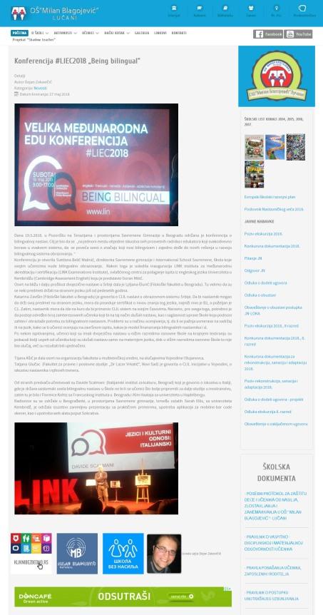 2705 - oslucani.edu.rs - Konferencija LIEC2018 Being bilingual