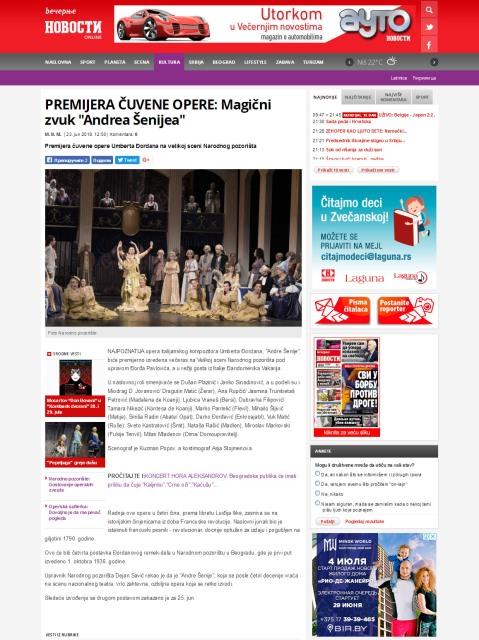2306 - novosti.rs - PREMIJERA CUVENE OPERE- Magicni zvuk Andrea Senijea
