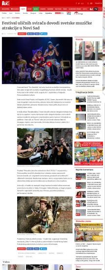 1508 - blic.rs - Festival ulicnih sviraca dovodi svetske muzicke atrakcije u Novi Sad