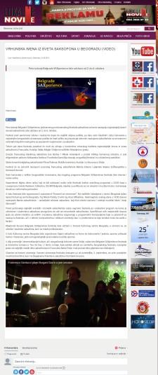 0109 - lokalnenovine.rs - VRHUNSKA IMENA IZ SVETA SAKSOFONA U BEOGRADU
