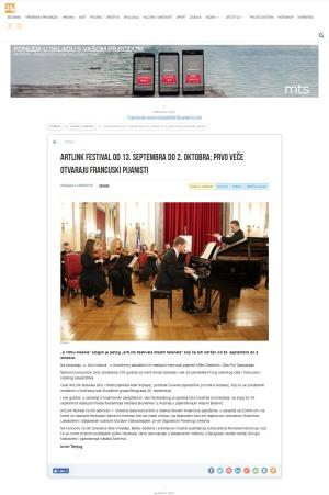 1409 - 24online.info - ArtLink festival od 13. septembra do 2. oktobra prvo vece otvaraju francuski pijanisti