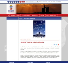 1409 - beograd.rs - ArtLink festival mladih talenata