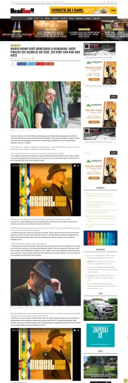 1809 - headliner.rs - Mario Biondi uoci koncerata u Beogradu - Dacu publici sve najbolje od sebe, jer ovde sam kao kod kuce