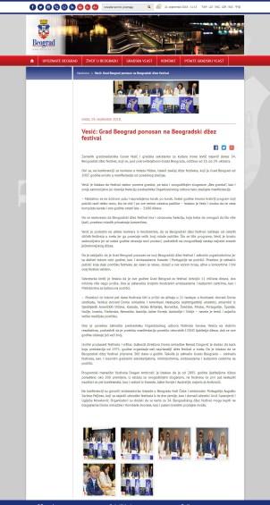 1909 - beograd.rs - Vesic- Grad Beograd ponosan na Beogradski dzez festival