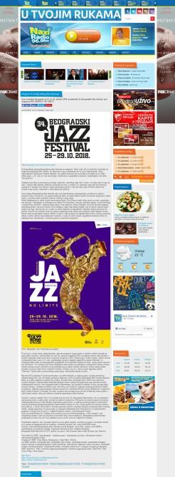 2009 - naxi.rs - Program 34. Beogradskog dzez festivala