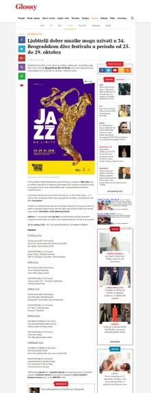 2109 - glossy.espreso.rs - Ljubitelji dobre muzike mogu uzivati u 34. Beogradskom dzez festivalu u periodu od 25. do 29. oktobra