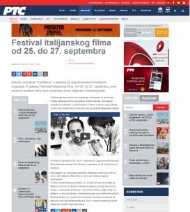 2309 - rts.rs - Festival italijanskog filma od 25. do 27. septembra