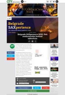 2509 - citymagazine.rs - Belgrade SAXperience 2018- Peti medjunarodni festival saksofona