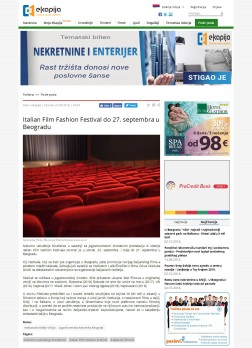 2509 - ekapija.com - Italian Film Fashion Festival do 27. septembra u Beogradu