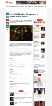 2509 - glossy.espreso.rs - Festival italijanskog filma ponovo u Jugoslovenskoj kinoteci