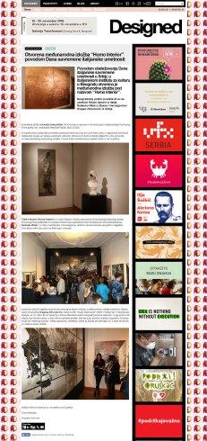 0111 - designed.rs - Otvorena medjunarodna izlozba Homo Interior povodom Dana savremene italijanske umetnosti
