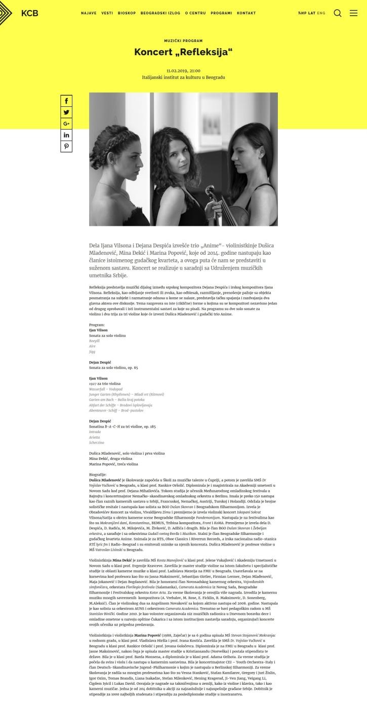 0202 - kcb.org.rs - Koncert Refleksija