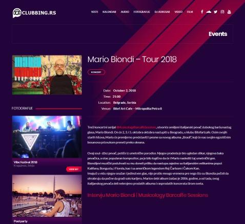 0210 - clubbing.rs - Mario Biondi GÇô Tour 2018