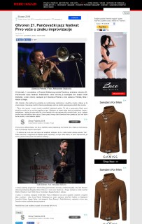 0211 - k-013.com - Otvoren 21. Pancevacki jazz festival- Prvo vece u znaku improvizacije