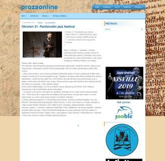 0211 - prozaonline.com - Otvoren 21. Pancevacki jazz festival