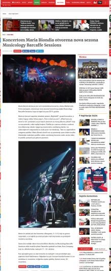 0310 - blic.rs - Koncertom Maria Biondia otvorena nova sezona Musicology Barcaffe Sessions