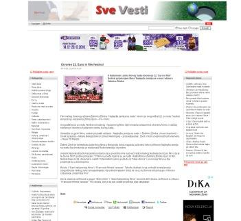 0512 - svevesti.com - Otvoren 22. Euro in film festival