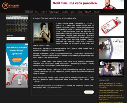 0711 - izlazak.com - IZLOZBA CAROBNA MILENA U DOMU JEVREMA GRUJICA