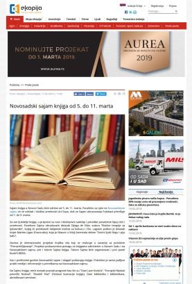 1102 - ekapija.com - Novosadski sajam knjiga od 5. do 11. marta