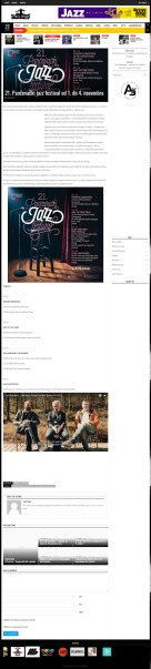 1110 - trecisvijet.com - 21. Pancevacki jazz festival od 1. do 4. novembra