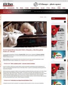 1202 - atastars.rs - Koncert pijanistkinje Alesandre Celeti u Beogradu, u Muzickoj galeriji Kolarca 25. februara