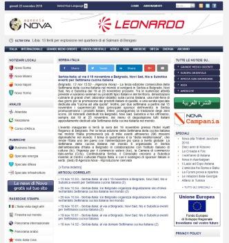 1311 - agenzianova.com - Serbia-Italia-