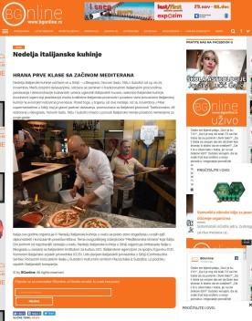 1311 - bgonline.rs - Nedelja italijanske kuhinje - Hrana prve klase sa zacinom Mediterana