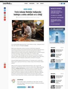 1311 - lookerweekly.com - Trece izdanje Nedelje italijanske kuhinje u svetu odrzace se u Srbiji