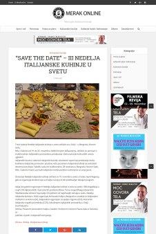 1511 - merakonline.com - SAVE THE DATE GÇô III NEDELJA ITALIJANSKE KUHINJE U SVETU