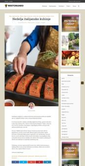 1611 - restoraneo.com - Nedelja italijanske kuhinje