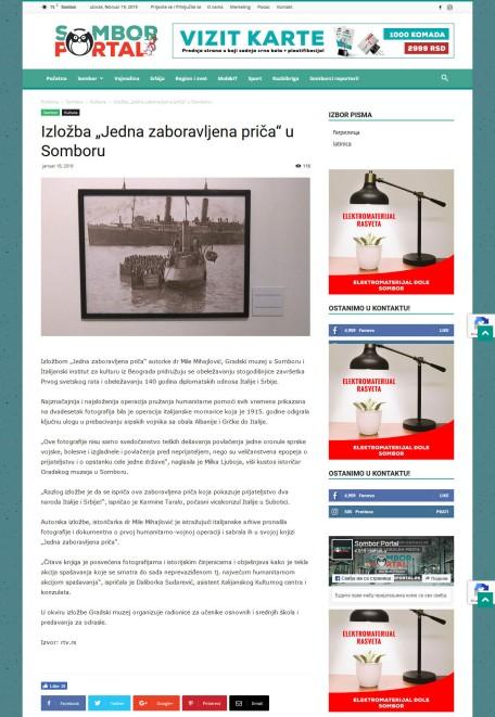 1801 - somborportal.rs - Izlozba Jedna zaboravljena prica u Somboru