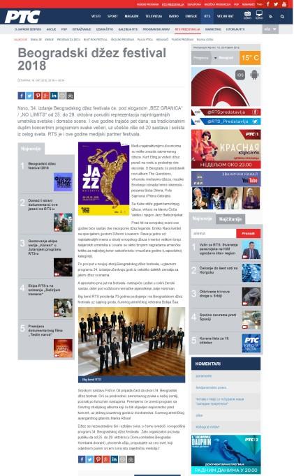 1810 - rts.rs - Beogradski dzez festival 2018