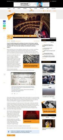 2001 - sputniknews.com - Krajem januara drugi Rosi fest