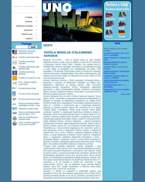 2011 - revijauno.co.rs - Pocela nedelja italijanske kuhinje
