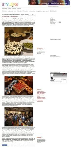 2011 - style.rs - Otvorena Nedelja italijanske kuhinje u svetu