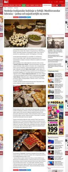 2111 - blic.rs - Nedelja italijanske kuhinje u Srbiji- Mediteranska ishrana - jedna od najzdravijih na svetu