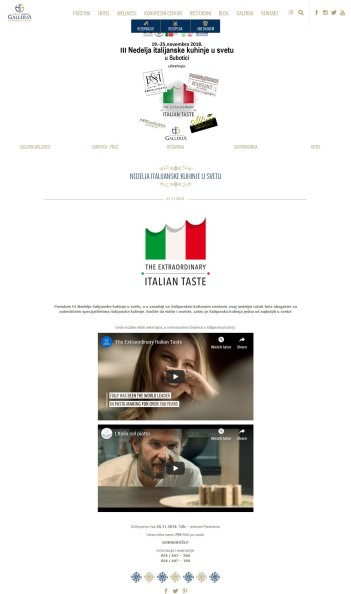 2111 - galleria-center.com - Nedelja italijanske kuhinje u svetu