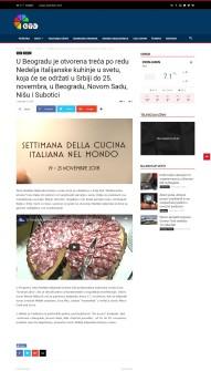 2111 - ktv.rs - U Beogradu je otvorena treca po redu Nedelja italijanske kuhinje u svetu