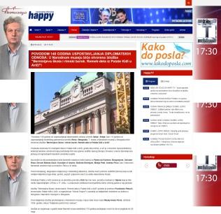 2202 - happytv.tv - POVODOM 140 GODINA USPOSTAVLJANJA DIPLOMATSKIH ODNOSA