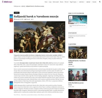 2202 - lolaloops.com - Italijanski barok u Narodnom muzeju