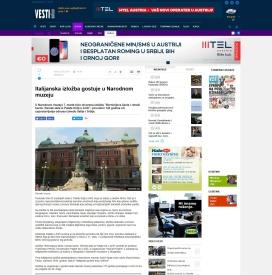 2202 - vesti-online.com - Italijanska izlozba gostuje u Narodnom muzeju