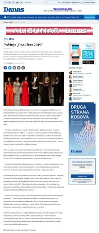 2301 - danas.rs - Pocinje Rosi fest 2019
