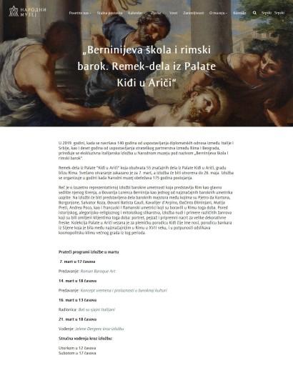 2302 - narodnimuzej.rs - Italijanska izlozba gostuje u Narodnom muzeju