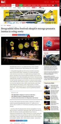 2310 - blic.rs - Beogradski dzez festival okupice mnoga poznata imena iz celog sveta