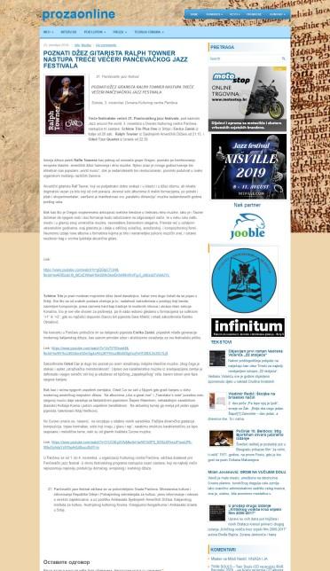 2310 - prozaonline.com - Poznati dzez giratista Ralf Towner