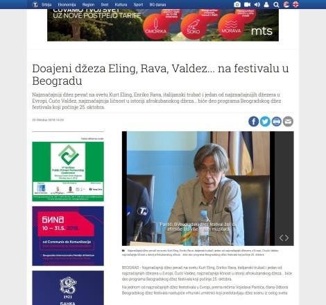 2310 - tanjug.rs - Doajeni dzeza Eling, Rava, Valdez na festivalu u Beogradu