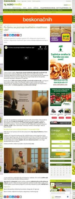 2511 - agromedia.rs - Po cemu se poznaje kvalitetno maslinovo ulje